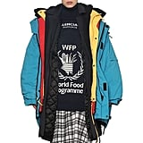 Or, Go All in With a Colorful Nylon Parka.