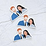 Prince Harry and Meghan Markle Sticker