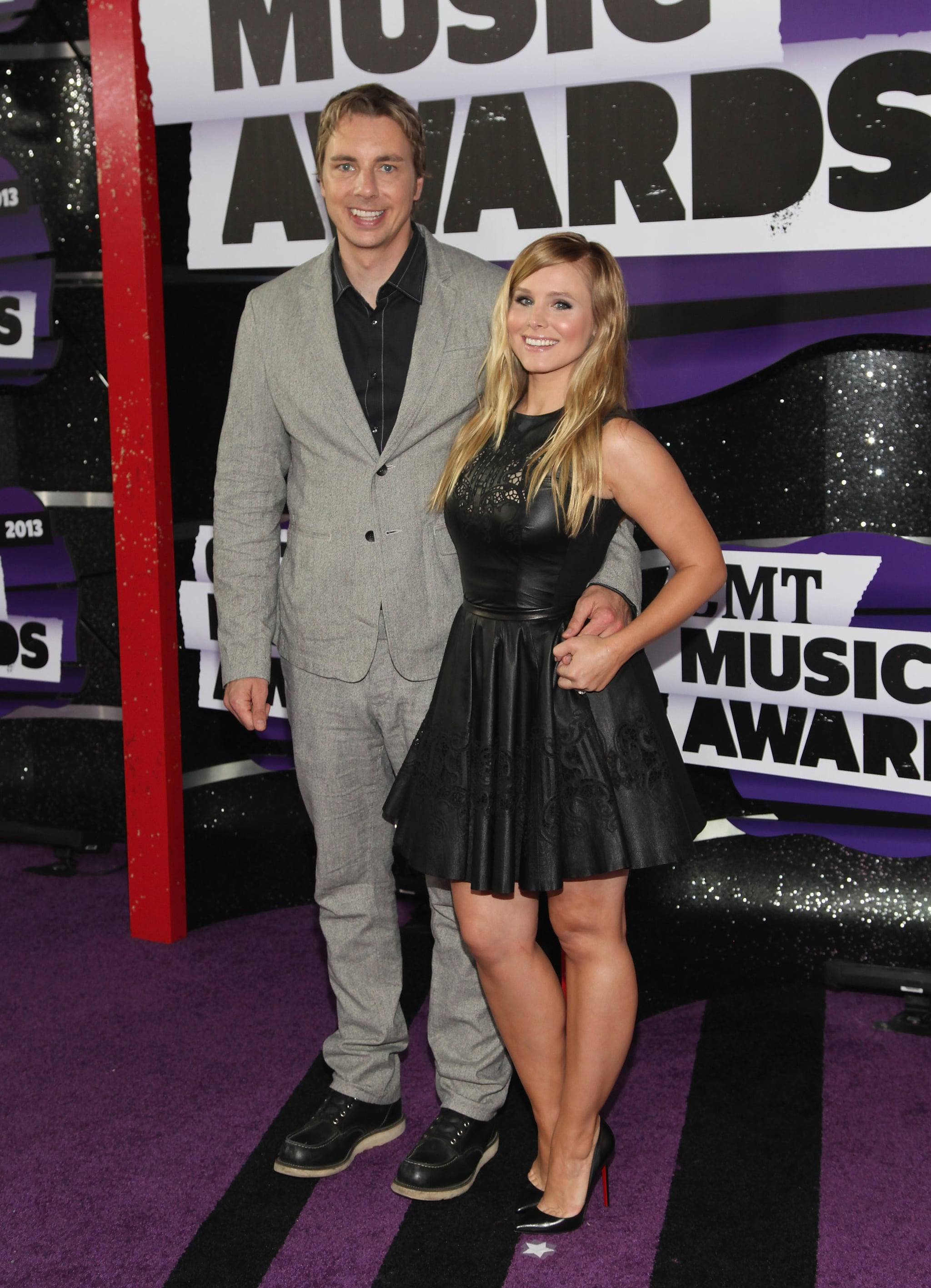 Kristen Bell attended the Country Music Awards with Dax Shepard in Nashville in June 2013.