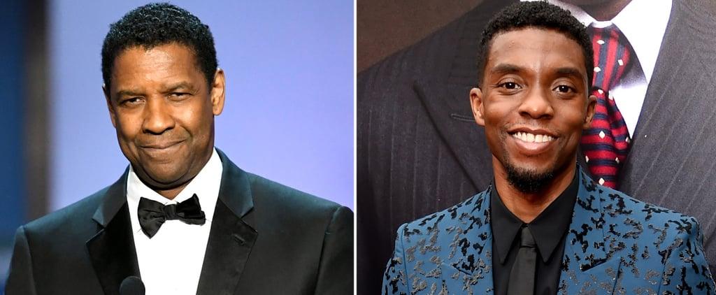 Read Denzel Washington's Tribute to Chadwick Boseman