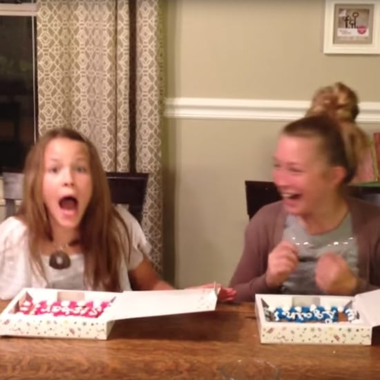 Sisters Find Out Mom Is Pregnant With Cookie Cakes