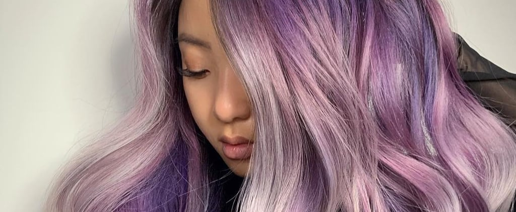 Lilac Hair Colour Pictures