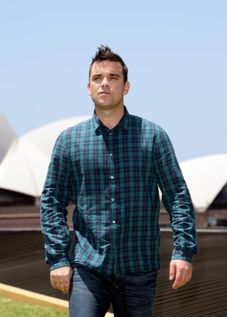 Photos of Robbie Williams in Australia