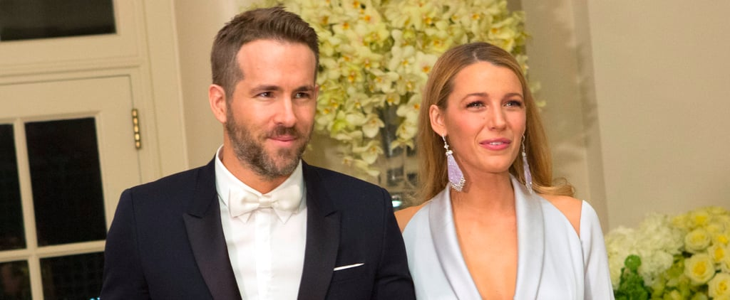Blake Lively and Ryan Reynolds Are a Modern-Day Barbie and Ken at the White House