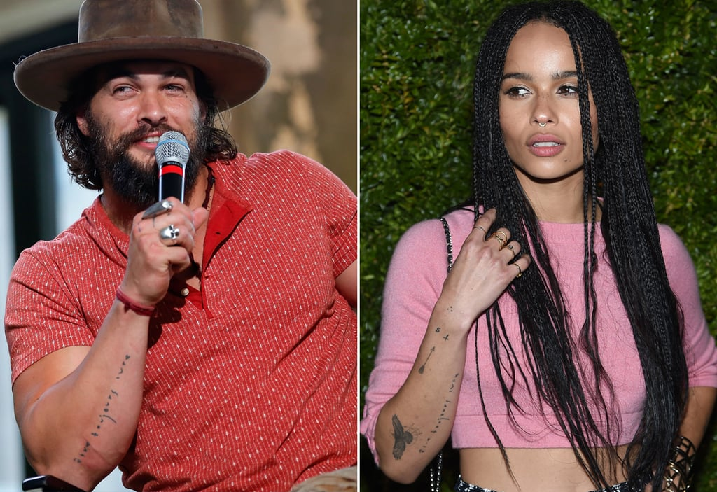 Jason Momoa And Zoe Kravitz Matching Tattoos Popsugar