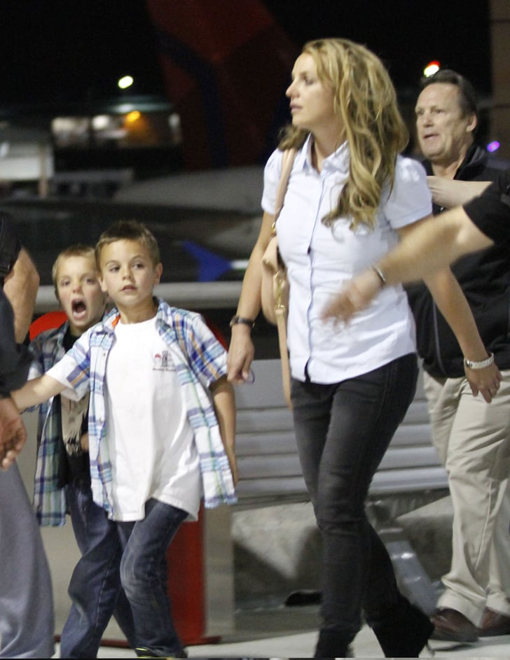 Britney Spears With Kids in New Orleans   Photos ...