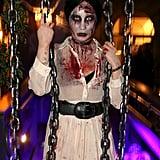 Demi Lovato as a Zombie