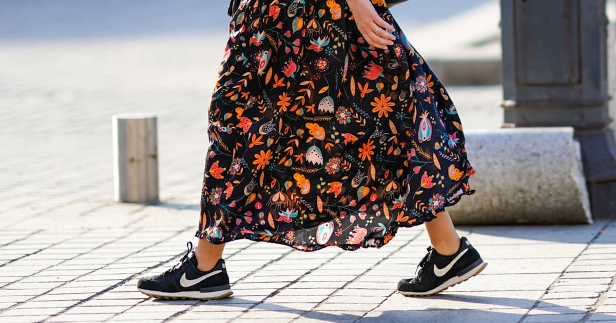 We Can't Stop Wearing Dresses and Sneakers — Here Are 15 Cool Looks to Try Now