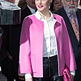 Queen Letizia's Edgy Outfit Proves She Deserves to Be Your Royal Fashion Muse