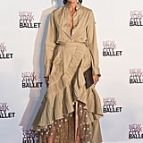 Jenna Lyons Wearing Her Spring '17 Collection at the Ballet Gala