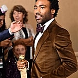 Donald Glover as Aaron Burr