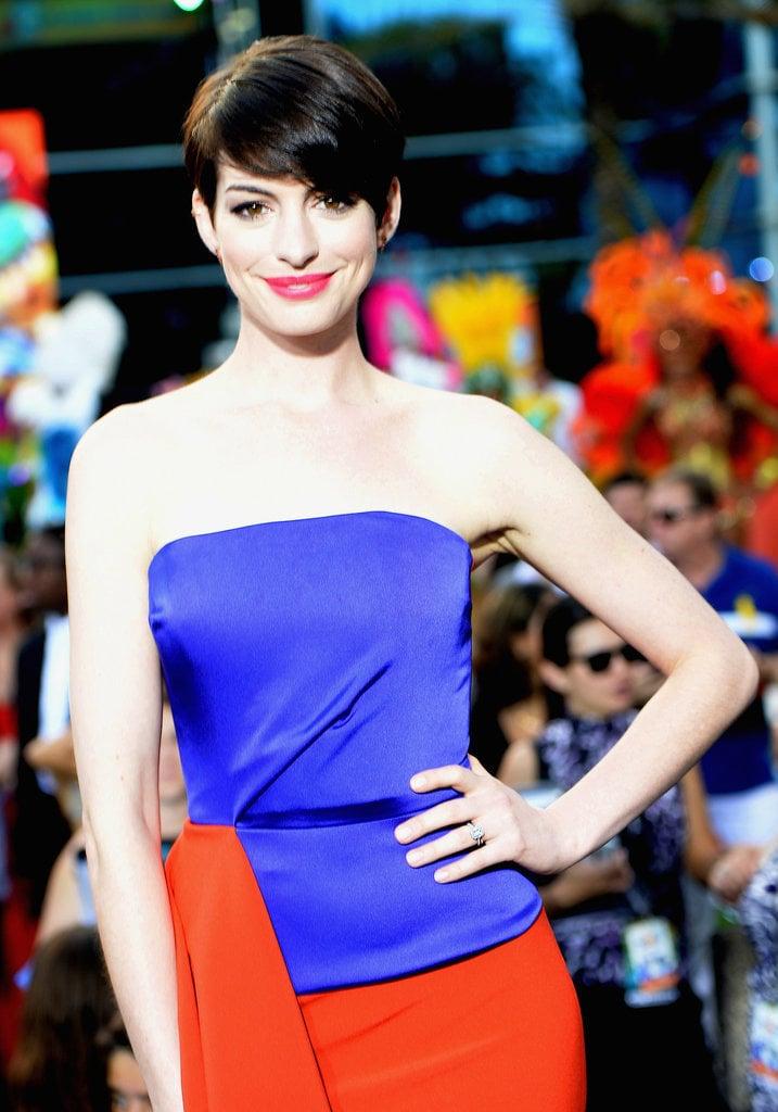 Anne Hathaway's Pixie Cut
