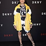 Kehlani at the DKNY Party During New York Fashion Week