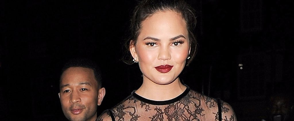 "Chrissy Teigen Hits the Town With John Legend After Clapping Back at a ""Mommy Shamer"""