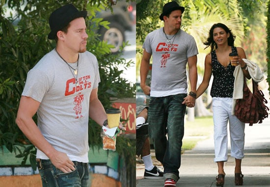 Pictures of Channing Tatum and Jenna Dewan Shopping in LA