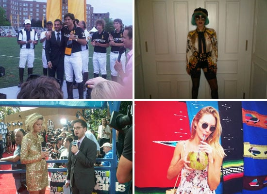 Celebrity Fashion Twitter Pictures from Lady Gaga, Marc Jacobs, Emily Browning
