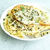 Easy Lemon Chicken Piccata With Pasta
