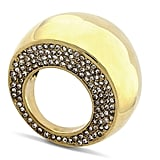 Does it get cooler than Vince Camuto's gold pave dome ring ($68)? We love the glittering rhinestones.