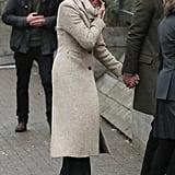 Meghan Markle's Gray Smythe Coat