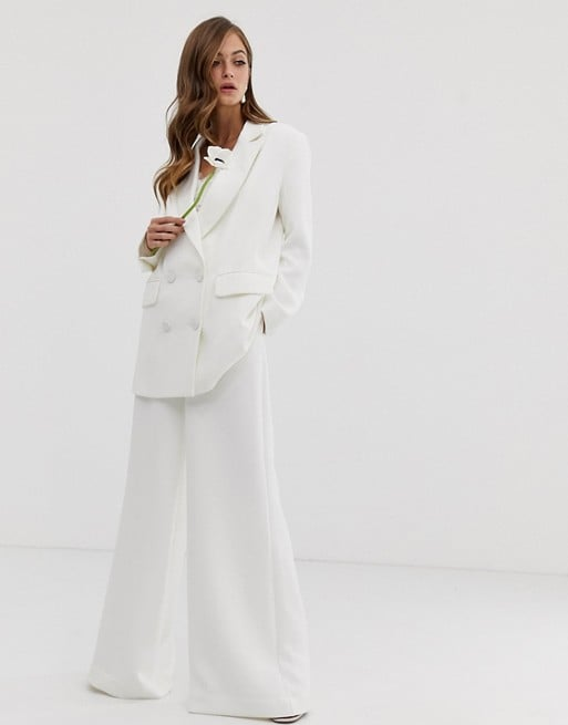 Asos Edition Double Breasted Wedding Jacket and Pant Set