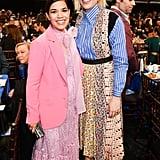 America Ferrera and Greta Gerwig at the 2020 Spirit Awards