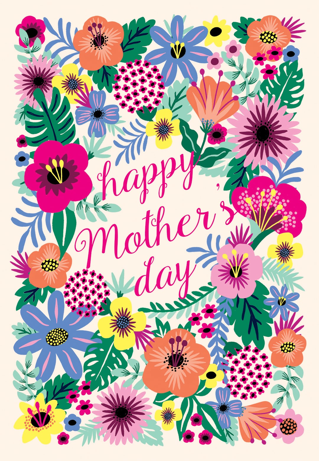 Whimsical Bouquet Printable Mother S Day Card 31 Printable Cards Right In Time For Mother S Day Popsugar Smart Living Photo 16