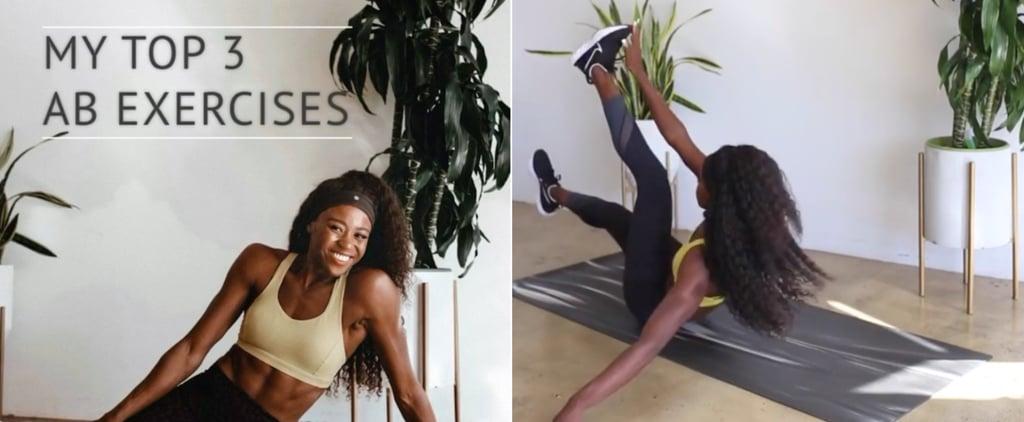 Jasmine Blocker's Favourite Bodyweight Ab Exercises