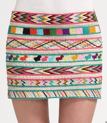 Gryphon Mayan Mini Skirt ($345)