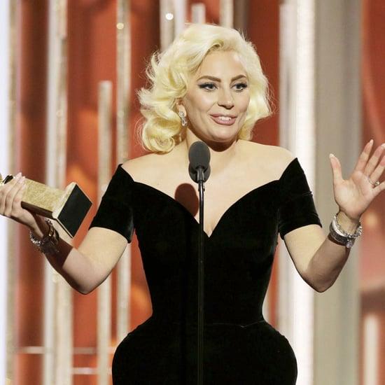 Lady Gaga's Dankesrede bei den Golden Globes 2016