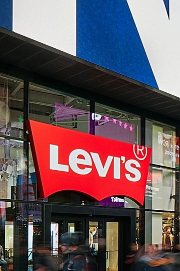 New Levi's Store in Times Square NYC