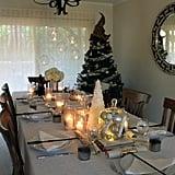 أشعلوا الشموع لتمنحوا الطاولة طابعاً سحريّاً.