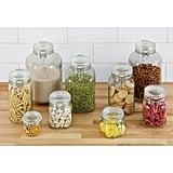 Pantry: Hermetic Glass Storage Jars