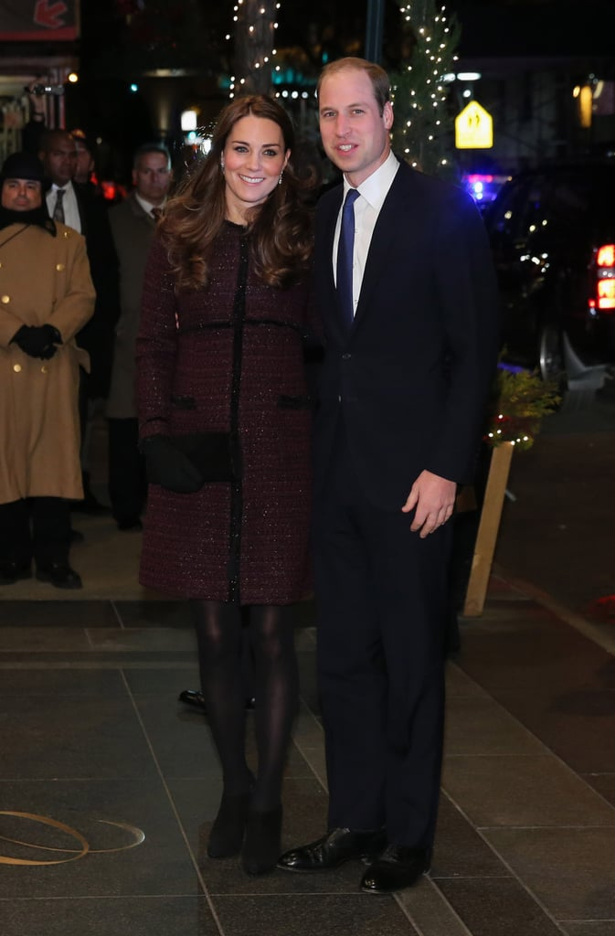 Kate and William Arrived in New York Sporting Red, White, and Blue!