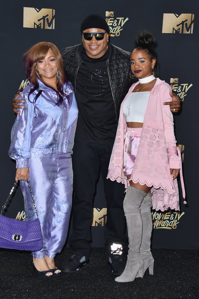 LL Cool J, Simone Smith, and Nina Simone Smith