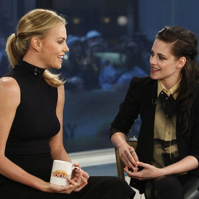 Kristen Stewart and Charlize Theron Pictures on Today Show