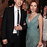 Hunter Johansson and Scarlett Johansson