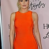 Khloé Kardashian With a High Ponytail in 2014