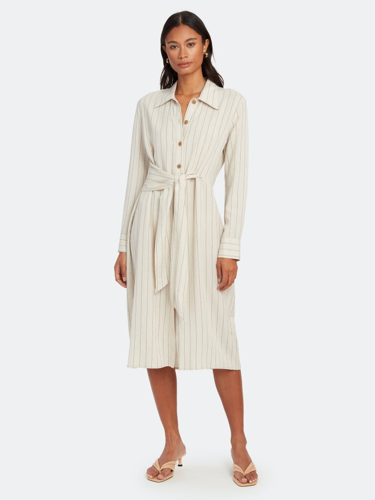 NORR Blake Midi Shirt Dress