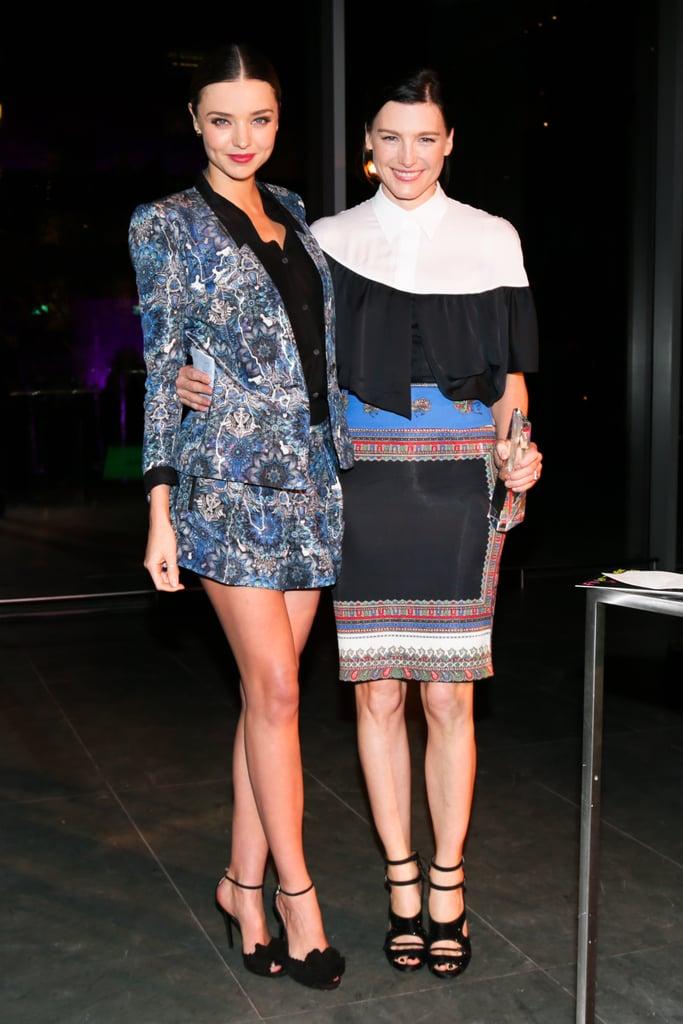 Miranda Kerr and Tabitha Simmons