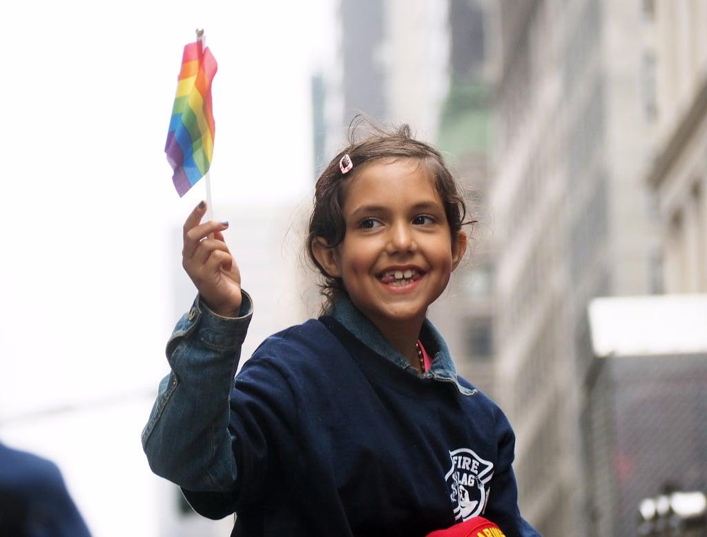 Kids at Pride Parades