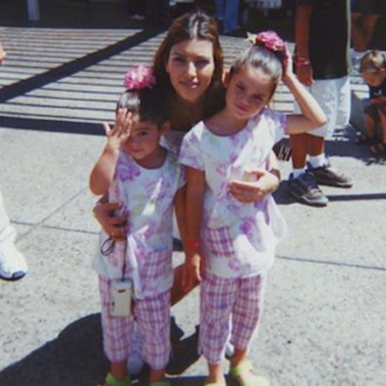 Kylie Jenner's Throwback Picture For Kim's Birthday 2015