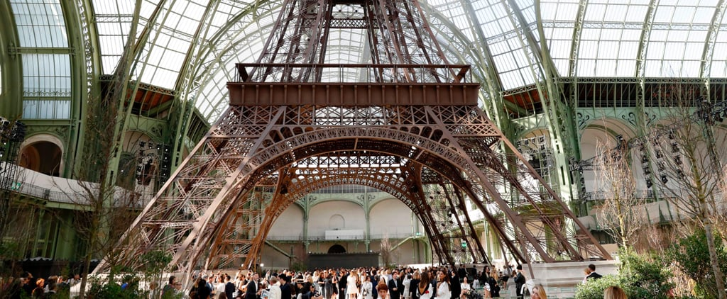 Karl Lagerfeld Built His Own Eiffel Tower, We Can All Go Home Now