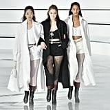 Gigi Hadid in a Trio on the Chanel Fall 2020 Runway at Paris Fashion Week