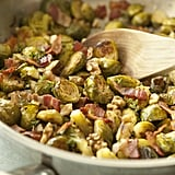 Roasted Brussels Sprouts With Walnuts and Bacon
