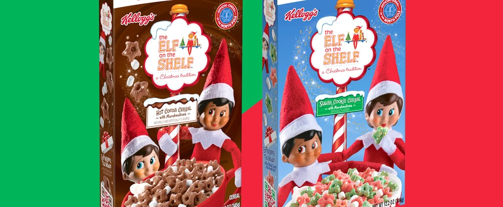 Elf on the Shelf Hot Cocoa and Sugar Cookie Holiday Cereals