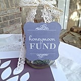 Honeymoon Fund Sign
