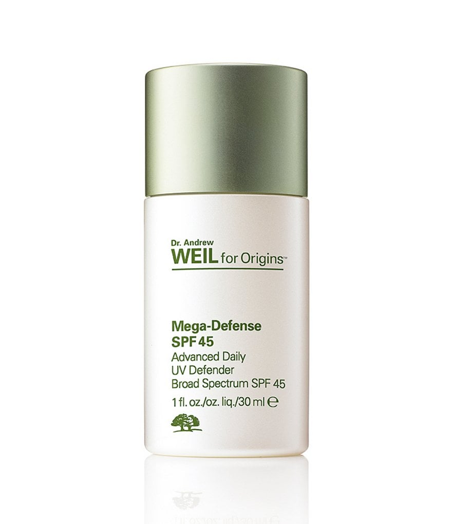 Dr. Andrew Weil For Origins Mega-Defense Advanced Daily UV Defender SPF 45 ($41)