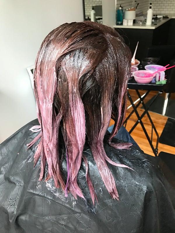 Processing Chocolate Mauve Hair Color Trend Popsugar