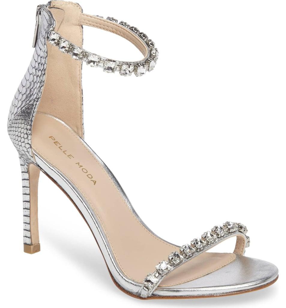 Pelle Moda Frisk Embellished Sandal
