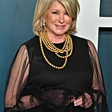 Martha Stewart at the Vanity Fair Oscars Afterparty 2020